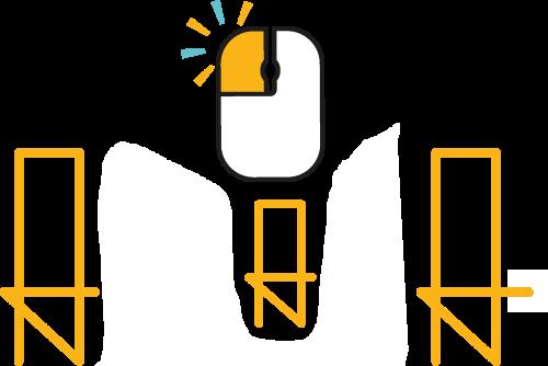 Logo Amana Ecole Privée en Ligne Blanc