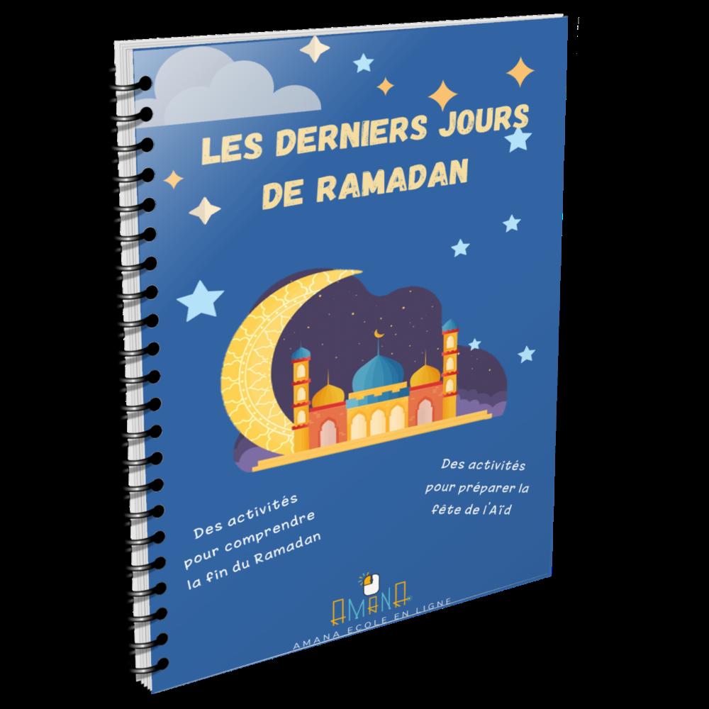 Les Derniers Jours de Ramadan - Cahier d'Activités - Amana Ecole en Ligne.
